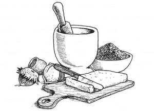 mattarello e tagliere cut